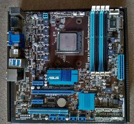 AMD Phenom 2 X4 955BE CPU + M5A88-M EVO Motherboard Combo