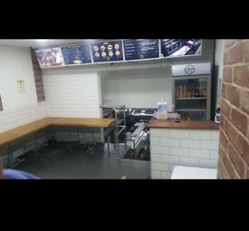 Takeaway shop and flat lease for sale