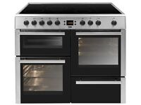 Beko BDVC100K 100cm Double Oven Electric Range Cooker With Ceramic Hob, BRAND NEW STILL IN WRAPPING
