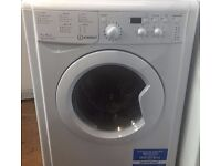 Indesit IWDD7143 7+5kg 1400 Spin White LCD Sensor Dry Washer/Dryer 1 YEAR GUARANTEE FREE DEL N FIT