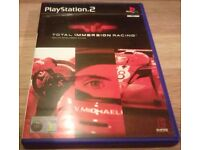 Total Immersion Racing PS2 - Video Game