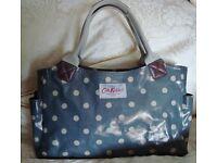 Cath Kidston Large Slate Grey Tote Shoulder Handbag Day Bag