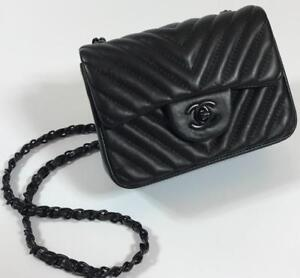 Chanel Mini So Black Lamb Leather ( More Styles Colors Brands Available)