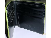 Ted Baker black wallet