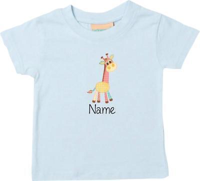Giraffe Kinder-t-shirt (Kinder T-Shirt mit tollen Motiven inkl. Ihrem Wunschnamen Giraffe)