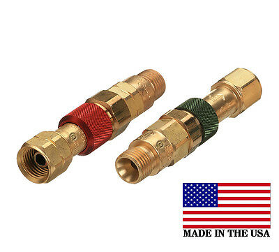Western Torch To Hose Quick Connectconnector Disconnect Set Qdb10