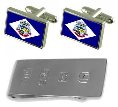 Cabo Frio City Rio De Janeiro State Flag Cufflinks & James Bond...