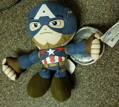 Marvel Avengers: Age of Ultron Captain America Talking Plush Figure NEW NWT