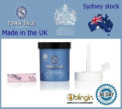 Jewellery - Town Talk Silver Sparkle Dip Jewellery Cleaner 225ml Jewelry cleaning Since 1895