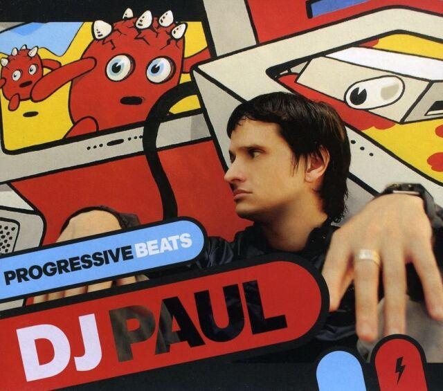 DJ PAUL - PROGRESSIVE BEATS  CD NEU
