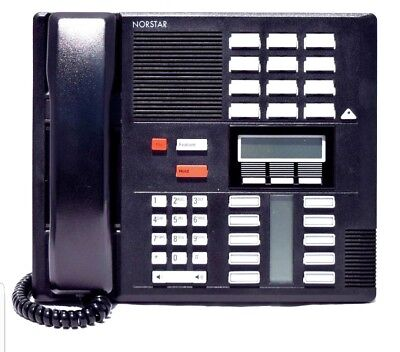 Nortel Norstar Meridian M7310 Display System Phone Blk NT8B20 REFURB