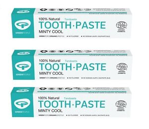 GREEN-PEOPLE-MINTY-COOL-TOOTHPASTE-3x50ml-ORGANIC-FLUORIDE-FREE