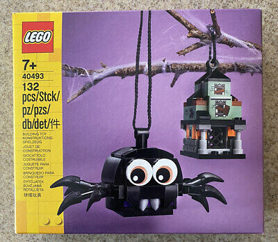 Lego 40493 Spider & Haunted House Pack New In Box