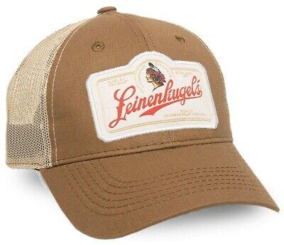 Leinenkugel's Woven Label Cotton Twill Front Mesh-Back Cap Twill Mesh Back Cap
