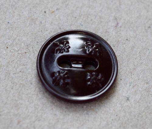 Boy Scout Uniform Replacement Brown Button W/Rim BSA Eagle Scout FREE SHIPPING