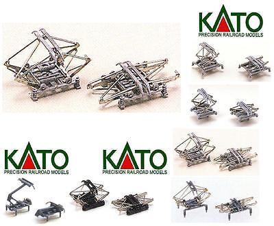 KATO 11-404 N.2 Paire ROUTEURS BOIS GRIS Type FS en métal et plastique échelle-n