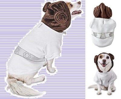 PETCO Star War Princess Leia Pet Fan Collection Dog Hoodie Sweatshirt NEW - Leia Hunde Kostüm