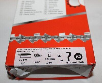 Dolmar Sägekette, 30 CM, 3/8, 1,3 mm, 46 TG, Neu, OVP
