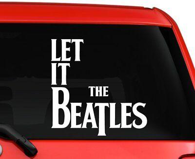 (The Beatles Let it be unique design car truck laptop macbook decal sticker 6