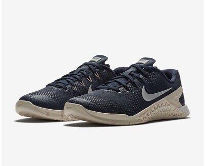 Women's Nike Metcon 4 Obsidian Guava Ice Crossfit Trainers Sz 7.5 UK 924593 402