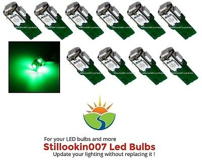 10 - Low Voltage Landscape T5 LED bulbs GREEN 5LED's per - Green Low Voltage Landscape Lighting