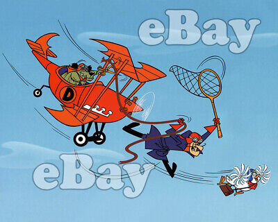 Rare! DASTARDLY & MUTTLEY Cartoon TV Photo HANNA BARBERA Studios WACKY -
