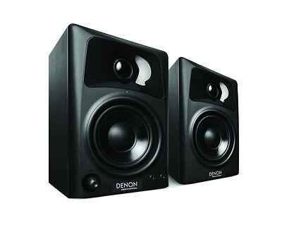 "Denon Professional DN-303S Pair 3"" 2-Way Active Studio Monitor Speakers 10 Watt"