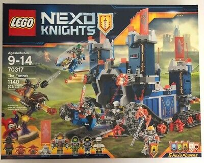 LEGO Nexo Knights - The Fortrex (70317) Sealed Retired