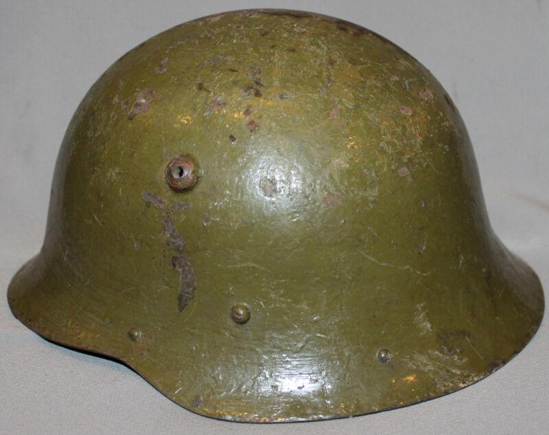 WWII WW2 BULGARIAN MILITARY M - 36 HELMET