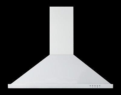 "MODERN WHITE WALL MOUNT RANGE HOOD -36"""