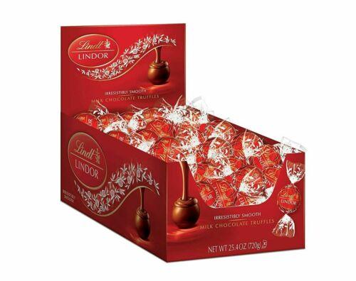 Lindt Milk LINDOR Chocolate Truffles 25.4 oz, 60 Count