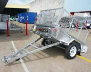 FREE SPARE WHEEL! 6x4 Cage Box Trailer For Sale 750KG ATM Coopers Plains Brisbane South West Preview