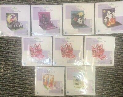 Lot Of 9 Treasures Pop-Up Greeting Cards - Birthday, Valentines Day, Halloween](Halloween Birthday Cards)