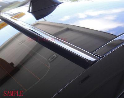 Painted Black For 2005-2010 CHRYSLER 300C Rear Window Roof Spoiler