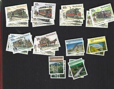 New Zealand sc#818-23 x3 #824-7 x2 (1985) Complete MNH