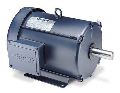 Leeson Electric Motor 140581.00 10 Hp 1740 Rpm 1-ph 230 Volt 215t Frame