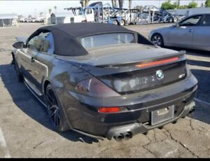 2007 BMW M6 complete part out..