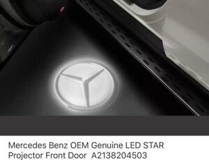 Mercedes-Benz Star Door Projector Lights