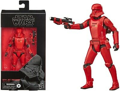 Star Wars The Black Series 6 Inch Action Figure - Sith Jet Trooper - NEW! BOXED!