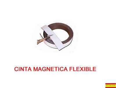 CINTA MAGNETICA IMAN ROLLO ADHESIVO 100CMX2CM MP