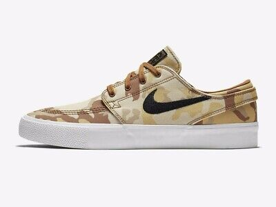 Authentic New Nike SB Zoom Stefan Janoski Canvas ® ( Men Size UK 8-11 ) Brown 🔥