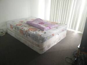queen size bed and base Bald Hills Brisbane North East Preview