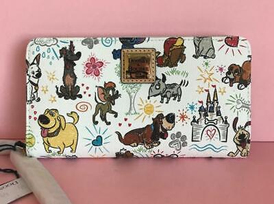 Disney Dooney & Bourke Dogs Sketch Wallet Lady & the Tramp Dug NWT