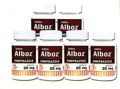 Omeprazole 20 mg OTC 360 Capsules. Acid Reflux & Heart Burn Reducer