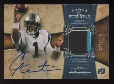 2011 Topps Star #170 Cam Newton 072/199 Auto Patch Jersey RC Rookie