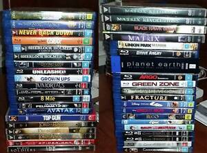 Bulk Bluray and DVD Pack Warners Bay Lake Macquarie Area Preview