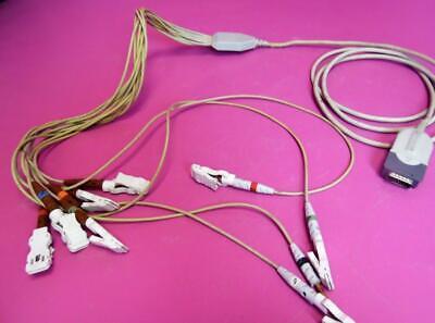 Burdick Ecg Acquisition Cable Module Patient Cardiology Ekg 10 Leads