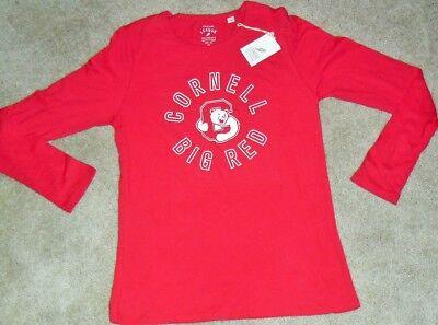 CORNELL BIG RED University Womens/Girls Long Sleeve Shirt sz