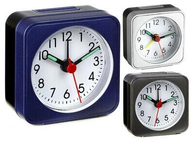 TFA Dostmann La Palma analoger Wecker Reisewecker Sweep-Uhrwerk lautlos