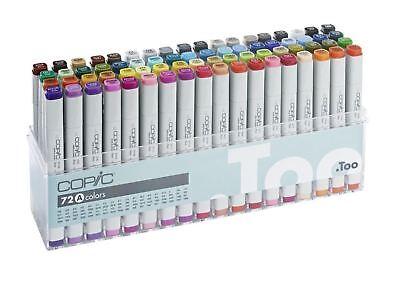 Copic CLASSIC 72 colors Set A  Premium Artist Markers